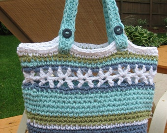 Beachside Bag, Crochet Pattern Pdf, Instant Pattern Download Available