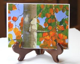 Autumn Aspen - Cards