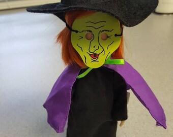 "Vintage Madeline 8"" Halloween Witch Costume Eden"