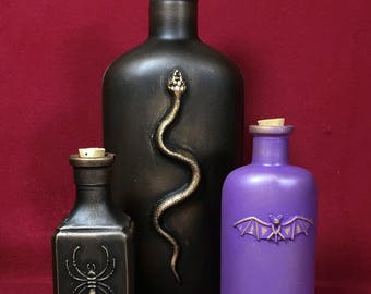 Apothecary Bottles Group D