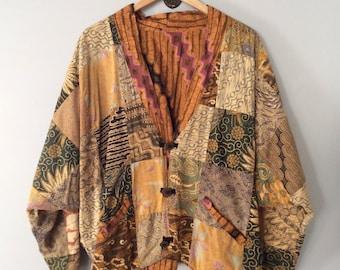 1990s Patchwork Guatemalan Jacket