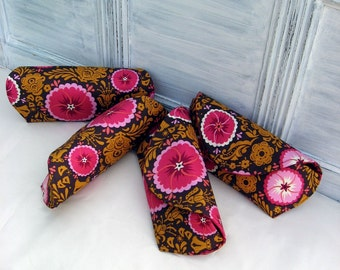 4 Bridesmaids Clutches Made to Order Many Fabric Options