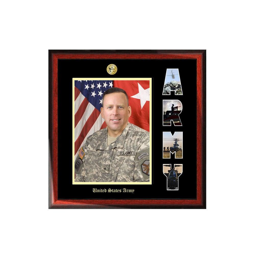 Marco de la imagen del ejército con los E.E.U.U. ejército Collage ...