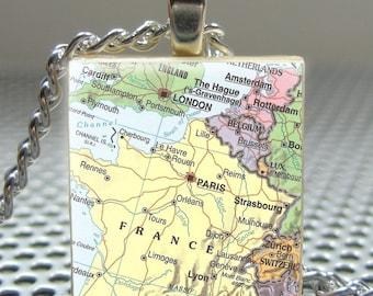 Pieces Of Me Pendants ...... Scrabble Tile Pendant ......  YOUR LOCATION PICK