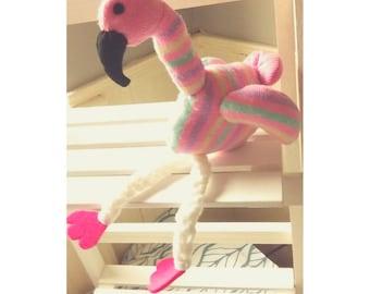 Flo the Sock Flamingo