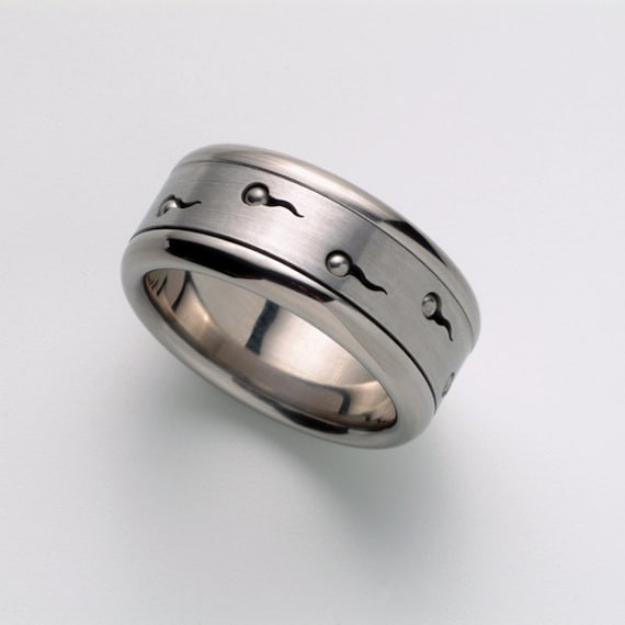 Elegant Unique Mens Wedding Band Mens Ring Cool Man Ring Band