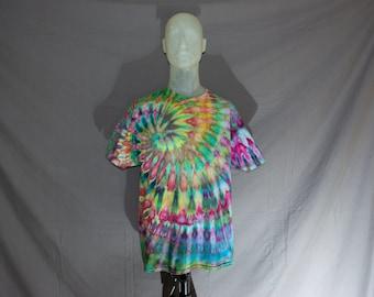 Handmade Ice Dye T-Shirt: X-Large 13