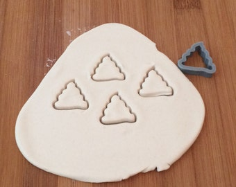 Poop Dog Treat Cookie Cutter - 3D Printed Plastic
