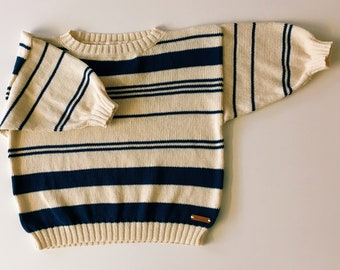 SUMMER Cropped Jumper - 80's Style