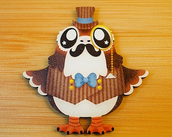 Steamporg Pin or Magnet