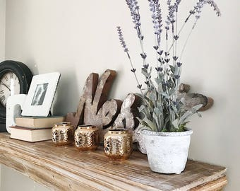 Potted Faux Lavender| Size Small |Lavender Greenery|Everyday Floral |Natural floral