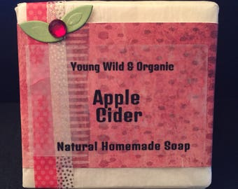 Apple Cider || Natural Goat's Milk Soap