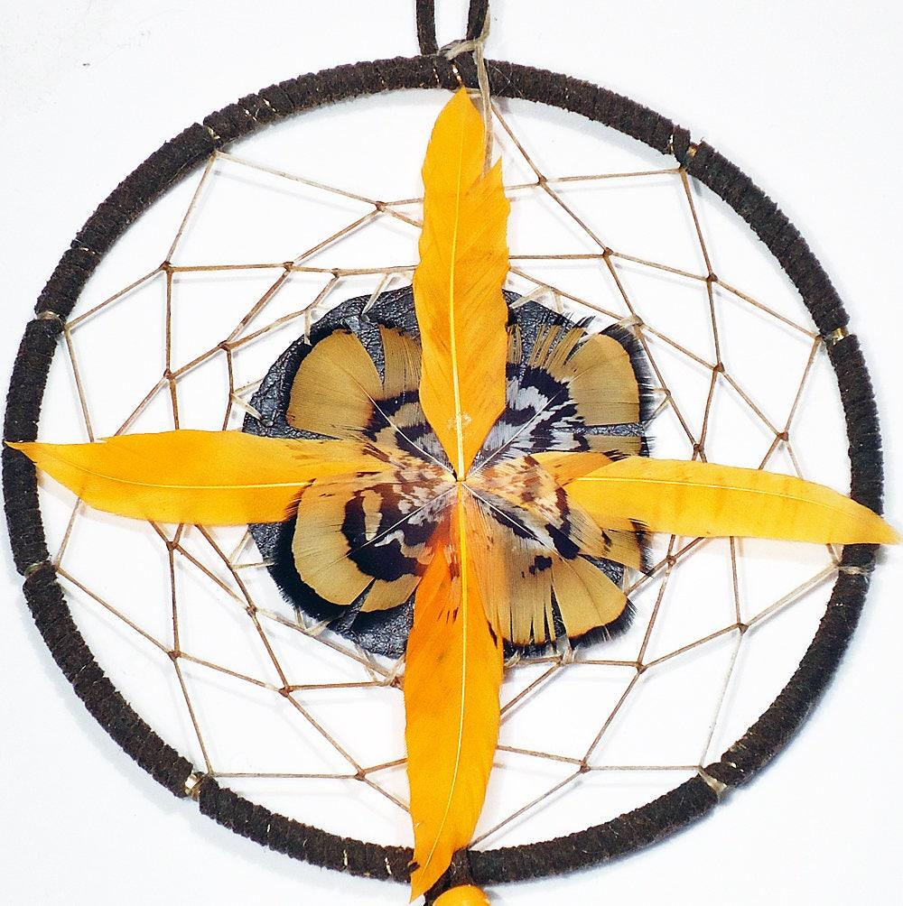 5 inch Native American dream catcher authentic indian hoop