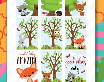 Woodland Animals Planner Sticker Kit for your Happy Planner!