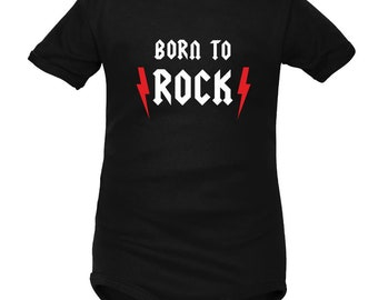 Rock baby body: Born to ROCK