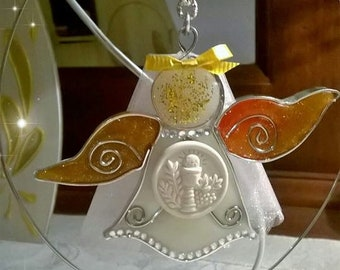 First Communion Angel Bombonniere