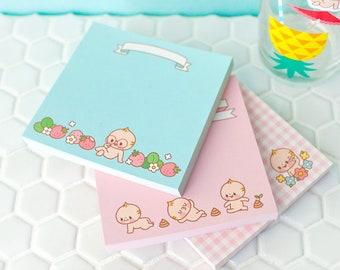 Baby Notepad / Memo pad / 100sheets