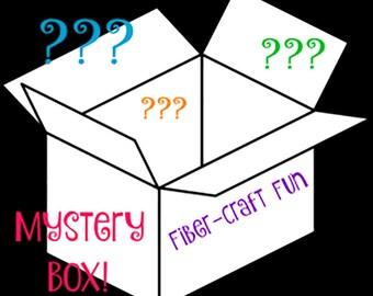 Teint à la main fil boîte mystère - 15 échevettes
