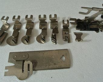Creist Vintage Sewing machine accessories/attachment, Vintage sewing machines, antique sewing machine,
