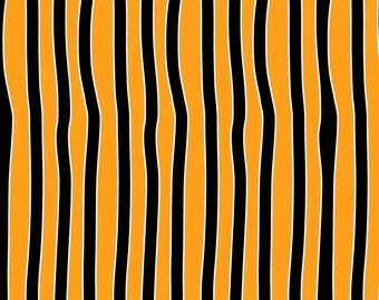 Chills and Thrills Glows in the Dark Orange/Black Stripe