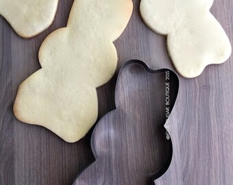 1 left! -Big Bunny cookie cutter | Kawaii Rabbit cutter | Fondant Cutter |NO RUST CUTTERS| Dishwasher safe | Large Bunny cookie cutter -C8