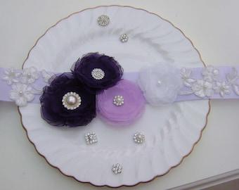 Bridal Sash, Bridesmaid Sash, Flower Girl Sash