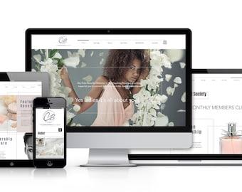 Professional WordPress website design / Website design / Custom website design / Web design / Custom web design / Business website