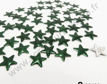 Star Thermo - emerald green - 8mm - x 75pcs