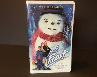 Vintage movies, Vhs, Jack Frost, Egg Shell Case