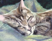 """Notecard """"Dreaming of a Home"""" by Sandi McGuire"""
