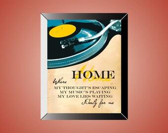 HOMEWARD BOUND | Poster | Print | Simon & Garfunkel | 11 x 14