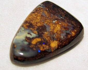 Undrilled - ref210 - boulder Opal