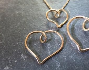"pendant ""coeur"""