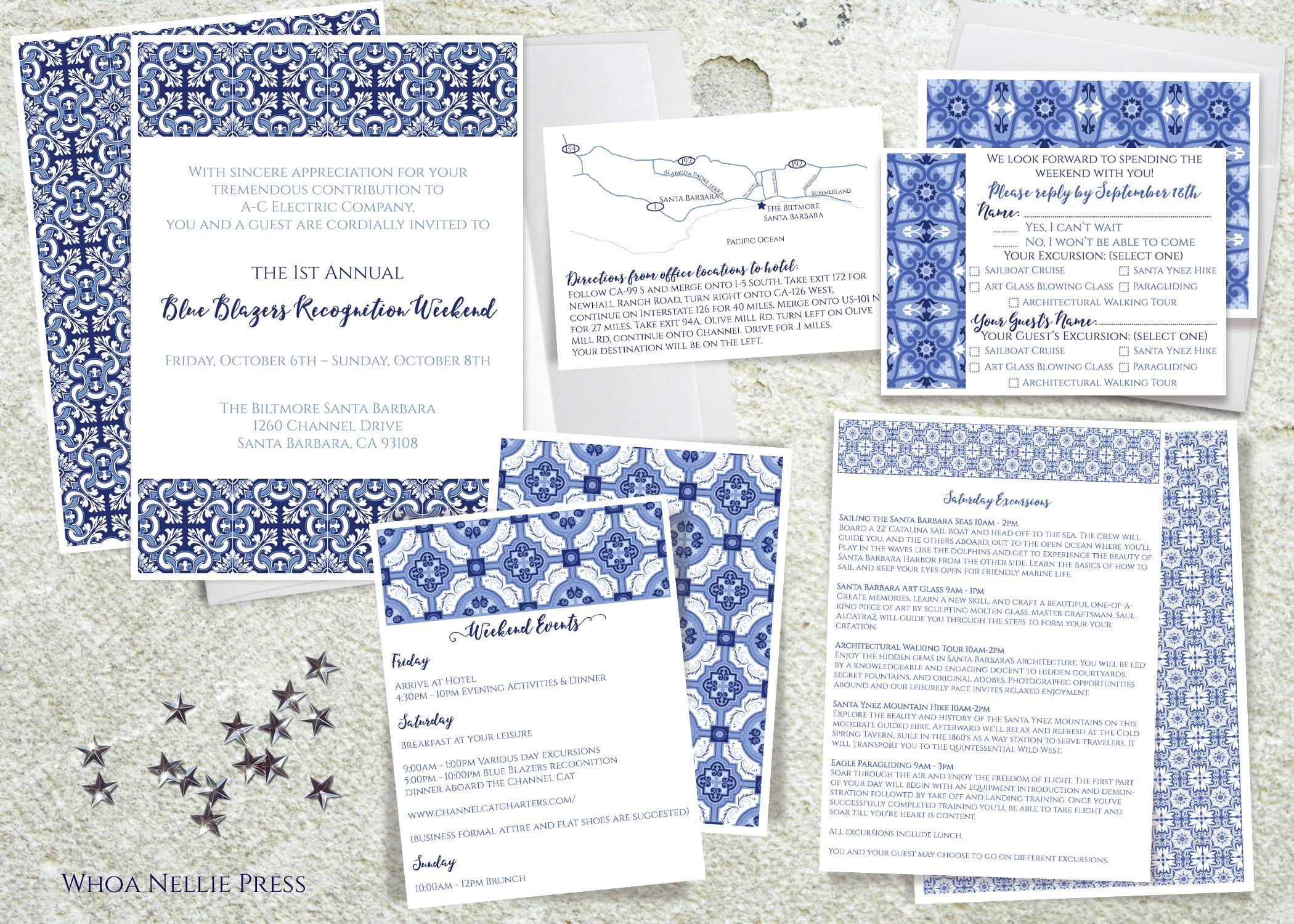 Mediterranean/Italian/Portuguese Tile Wedding