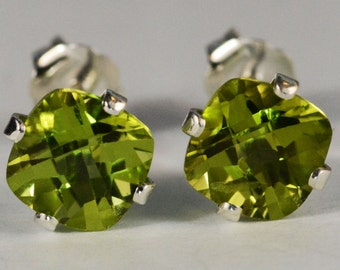 sterling earrings zirconia stud peridot sapphire silver item white in and stone