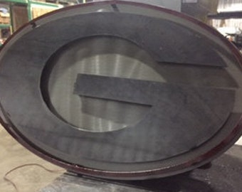 Custom Metal Georgia Sign