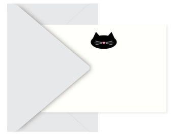 kitty kitty notecards