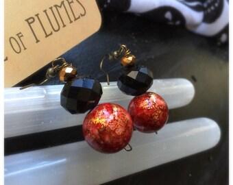 Dyed Jasper Earrings