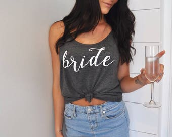 Bachelorette Party Shirts, Bachelorette Party Tanks, Bridesmaid Shirt, Bridal Party Shirts, Bride Shirt, Bachelorette Shirts, Bride Tank