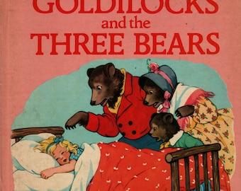 Goldilocks and the Three Bears See and Say Storybook + 1986 + Vintage Kids Book