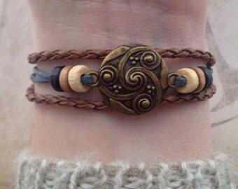 Celtic Bracelet Celtic Bohemian Bracelet Native American Tribal Bracelet Irish bracelet viking bracelet thor bracelet