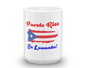 Puerto Rico Se Levanta Boricua Pride Mug