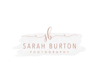 premade text logo, photography logo design, script font logo,  business branding, photography watermark 039