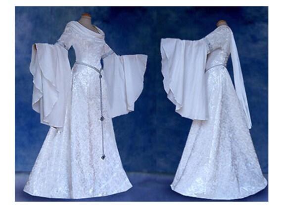 Elfenhaftes Bridal gown dress INIS elf dress middle aged elves