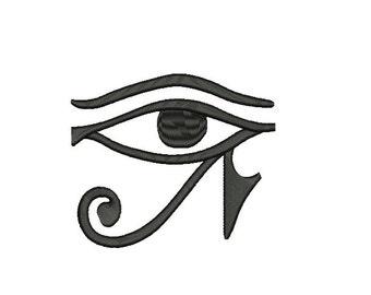 eye of horus embroidery design