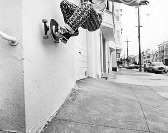 Jim Thiebaud Skateboarding Photo 18 x 24 Inch Paper - 80s Skate Photo