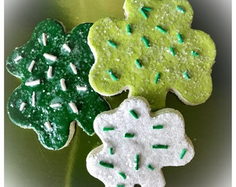 St. Patrick's Day Themed Fake Cookie Set