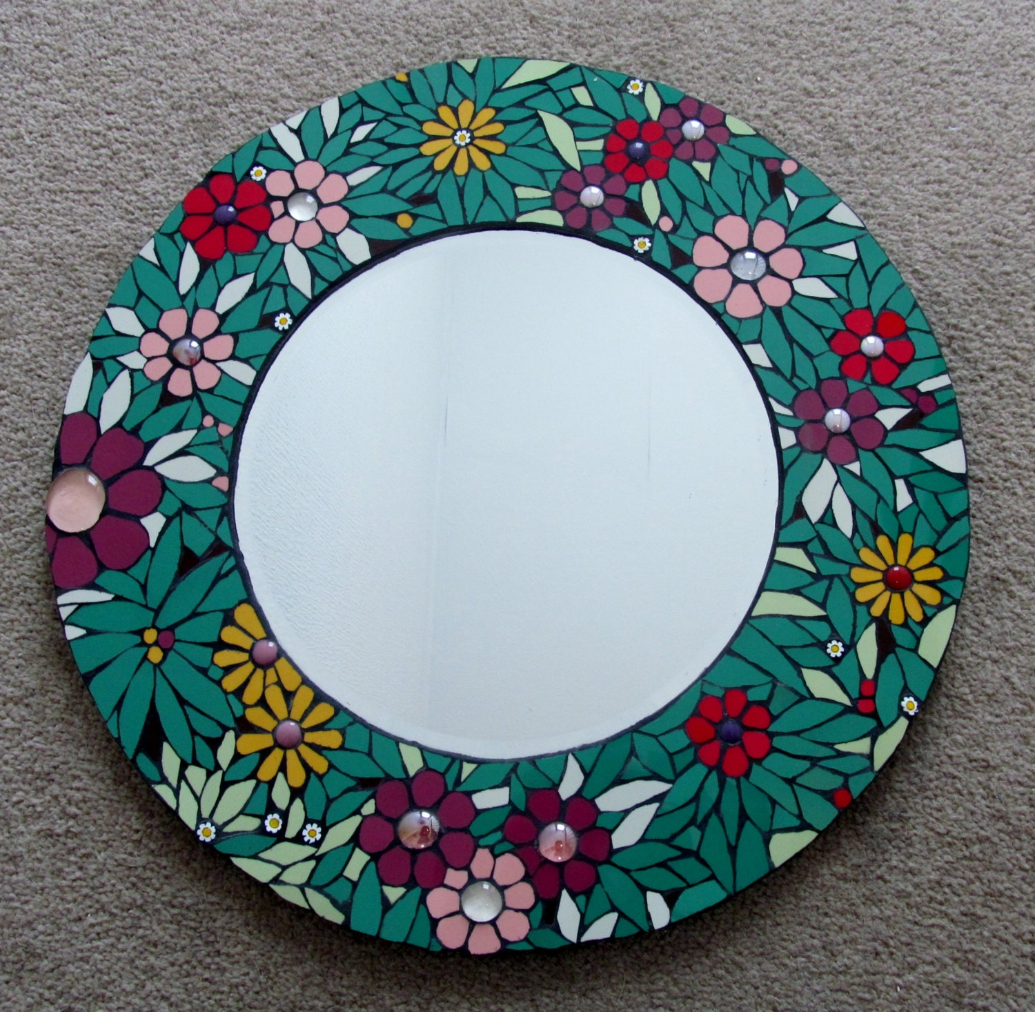 Round Mirrors For Crafts