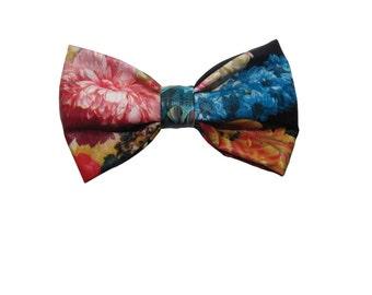 Floral Print Bow tie, Bow tie