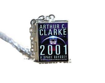 Arthur C. Clarkes's 2001 Book Locket Necklace